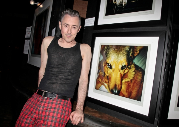Photo Flash: Alan Cummings Poses at his SNAPS Fine Art Photography Exhibition