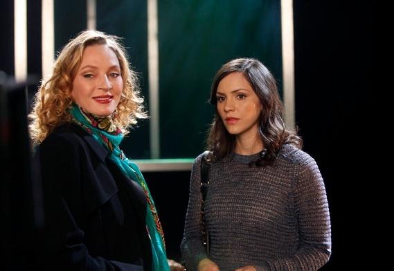 Uma Thurman & Katharine McPhee at SMASH 'Preview' Episode Featuring Marc Kudish