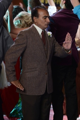 Iqbal Theba at First Look - GLEE's 'Prom-asaurus' Episode