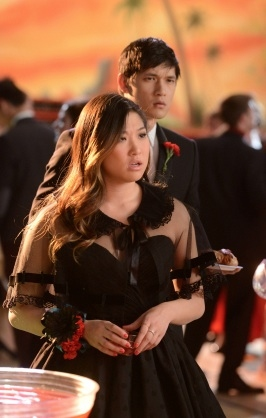 Jenna Ushkowitz & Harry Shum Jr.
