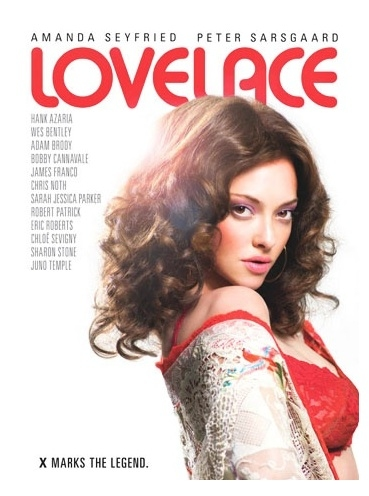 Photo Flash: Poster Art For Amanda Seyfried in LOVELACE