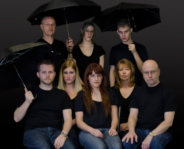 Frank Osmers, Merielle Lupfer, Andrew Van Buskirk, Steve Bell, Sharon Podsada, Lena Grotticelli, Amy Edelstein and Chris Nelson at First Look - Bergen County Players' THE LARAMIE PROJECT, 5/19 & 20