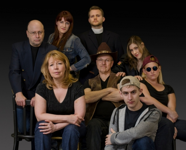 Steve Bell, Lena Grotticelli, Chris Nelson, Sharon Podsada, Frank Osmers, Merielle Lupfer, Van Buskirk and Amy Edelstein at First Look - Bergen County Players' THE LARAMIE PROJECT, 5/19 & 20