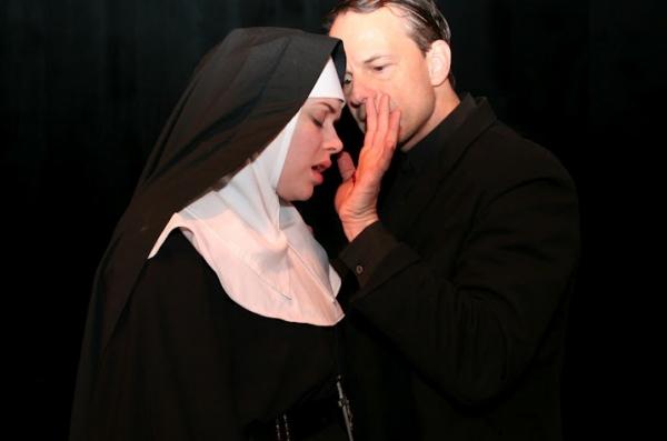 Casandera MJ Lollar (Sister Rita) and Christopher Patrick Mullen