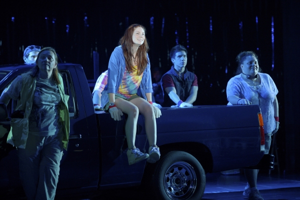 Photo Flash: First Look at Allison Case, Hunter Foster, et al. in La Jolla Playhouse's HANDS ON A HARDBODY