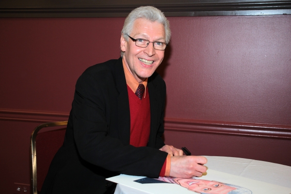 Photo Coverage: PRISCILLA, QUEEN OF THE DESERT's Tony Sheldon Receives Caricature at Sardi's