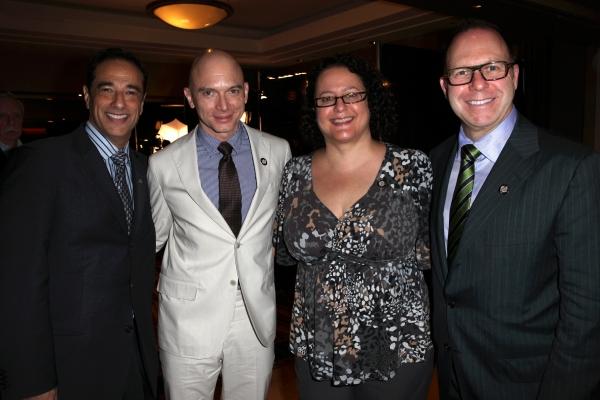 Hal Luftig, Michael Cerveris, Carol Fineman & Scott Sanders