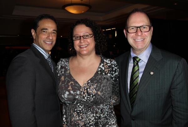 Hal Luftig, Carol Fineman & Scott Sanders