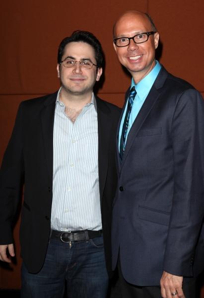 Robert Diamond & Richard Ridge at Behind the Scenes Meet the 2012 Tony Award Nominees!