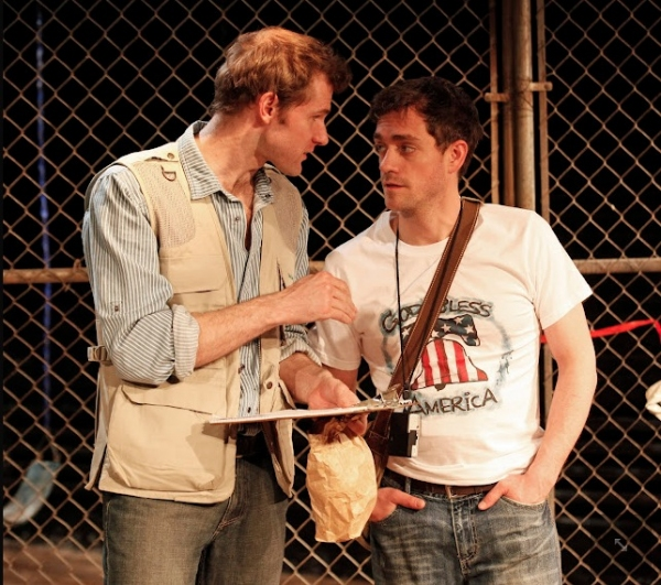 Photo Flash: INTAR's AMERICAN JORNALERO Premieres Off-Broadway Tomorrow, 4/3