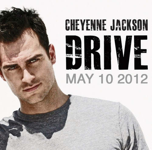 Photo Flash: Cheyenne Jackson's 'Drive' Album Artwork Released!