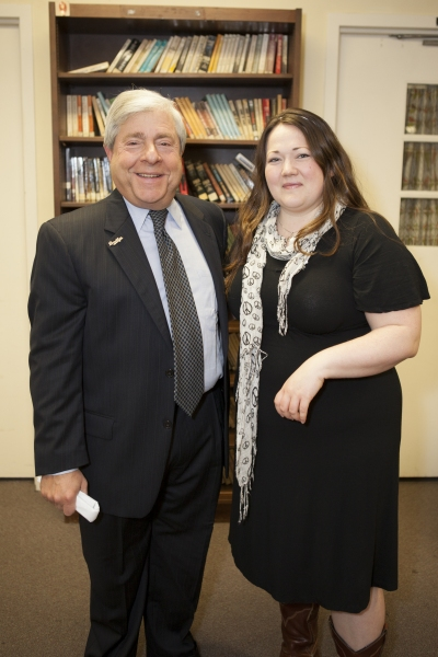 Marty Markowitz with Kathy Deitch