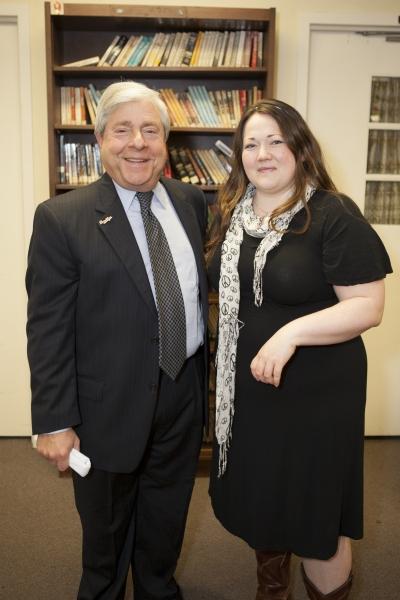 Marty Markowitz with Kathy Deitch
