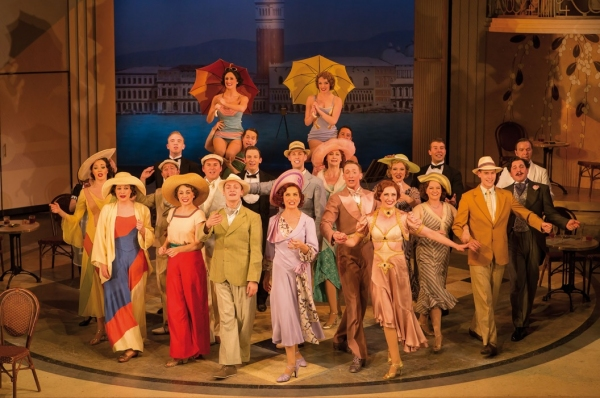 Photo Flash: Tom Chambers and Summer Strallen Lead TOP HAT on West End