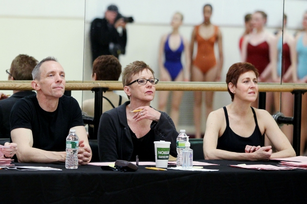 Dennis Callahan (Choreographer), Linda Haberman (Director and Choreographer of the Radio City Christmas Spectacular), Julie Branam (Assistant Choreographer)
