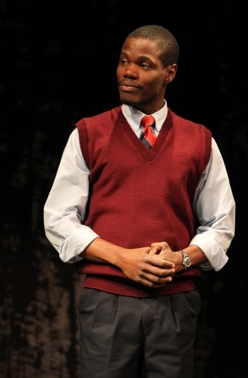 Stephen Tyrone Williams at Signature Theatre's MY CHILDREN! MY AFRICA!