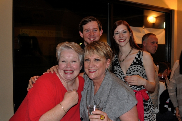 Photo Flash: Circle Theatre's WHEN THE RAIN STOPS FALLING Opening Night