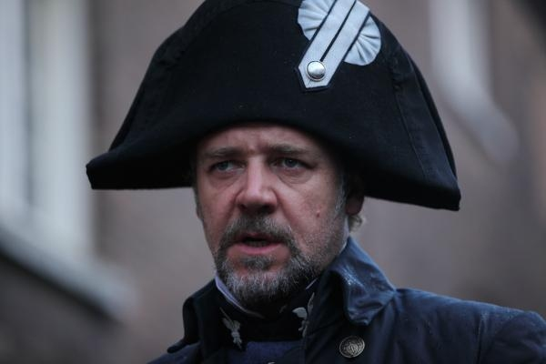 Photo Flash: Russell Crowe as Javert in LES MIS Film!