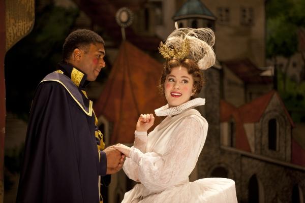 Nik Walker (Cinderella's Prince) and Jenny Latimer (Cinderella)
