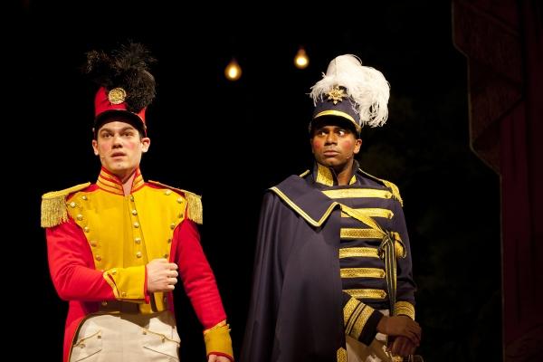 Robert Lenzi (Rapunzel's Prince) and Nik Walker (Cinderella's Prince)