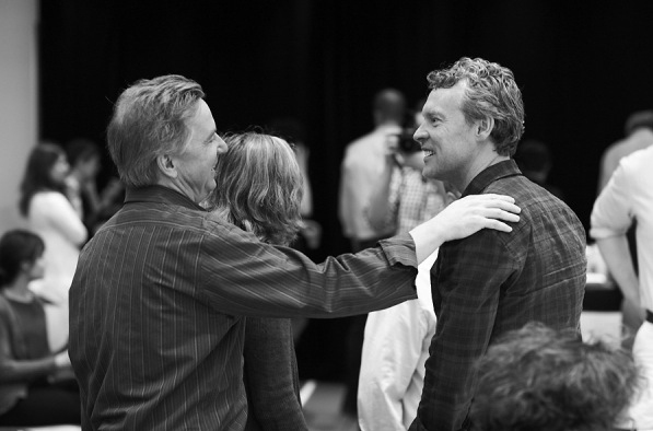 Photo Flash: Signature Theatre's MEDIEVAL PLAY Conducts First Rehearsal