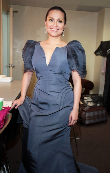 Photo Coverage: Backstage with Lea Salonga at Town Hall