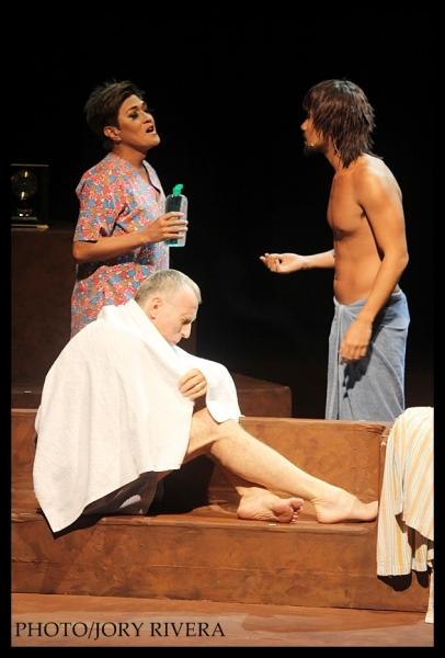 Vincent De Jesus, Myke Salomon, Paul Holmes