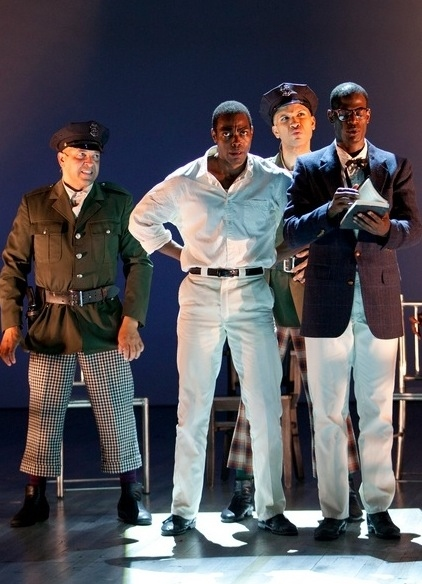 JC Montgomery as Guard Tambo, Clifton Duncan as Haywood Patterson, Jared Joseph as Guard Bones and Eric Jackson as Preacher