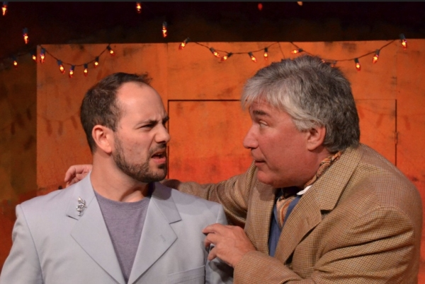 Stavros Adamides and Robert Klein at The Players Guild of Leonia Presents 'Jersey Shore' Inspired COMEDY OF ERRORS