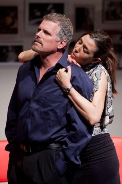 Robert Newman and Drena De Niro
