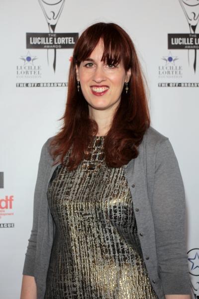 Lauren Helpern at 2012 Lucille Lortel Awards- the Starry Arrivals!
