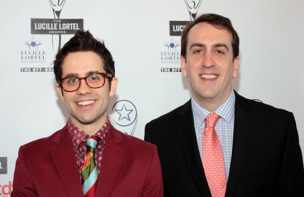 Chase Brock, Rob Berman at 2012 Lucille Lortel Awards- the Starry Arrivals!