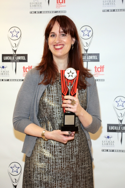 Lauren Helpern at Inside the Lucille Lortel Awards with the 2012 Winners!