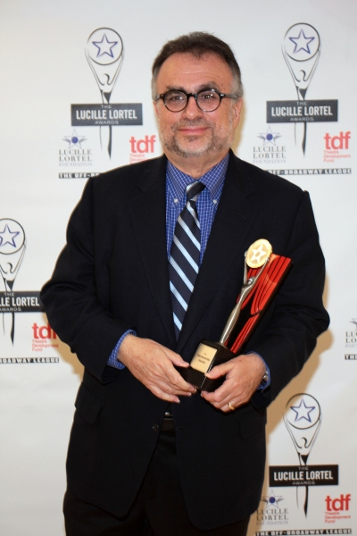 Richard Frankel at Inside the Lucille Lortel Awards with the 2012 Winners!