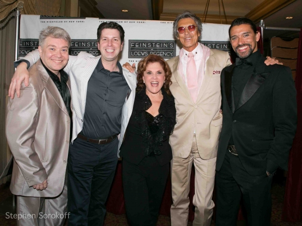 Richard Skipper,Peggy Herman, Tommy Tune, Franco LaCosta at Peggy Herman's HERMAN ON HERMAN Plays Feinstein's