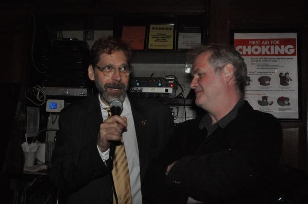 David Staller and Ciaran O'Reilly