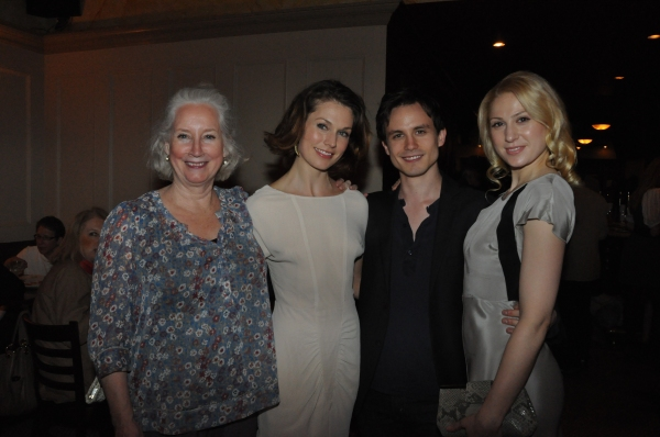Laurie Kennedy, Janie Brookshire, Will Bradley and Margaret Loesser Robinson Photo