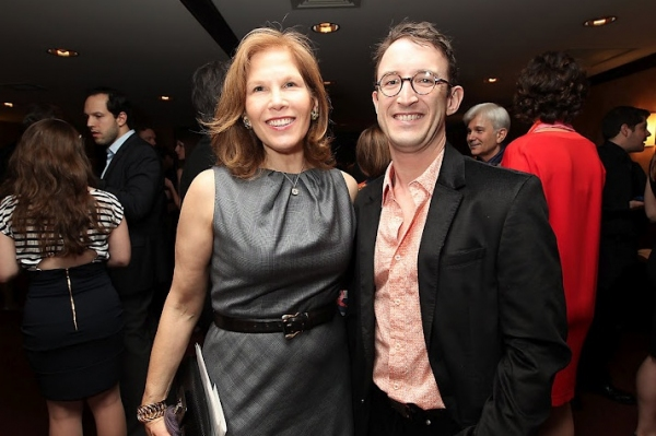 Ruth Hendel and Andrew Gerle at Peter Dinklage et al. at The Play Company's CABARET GOURMET Benefit