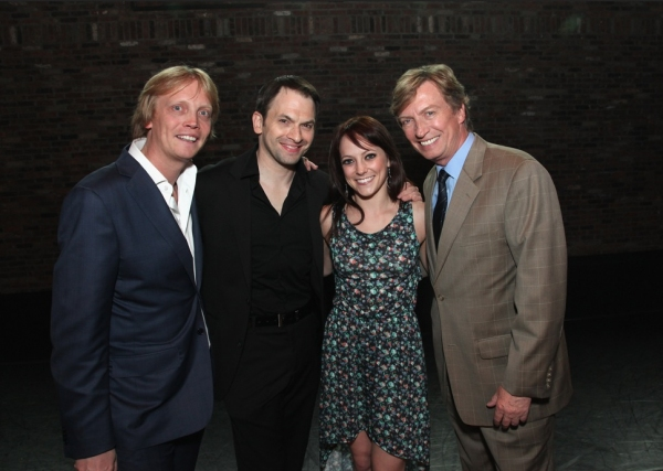 Photo Flash: Nigel and Simon Lythgoe Host Benefit for The Dancers' Resource