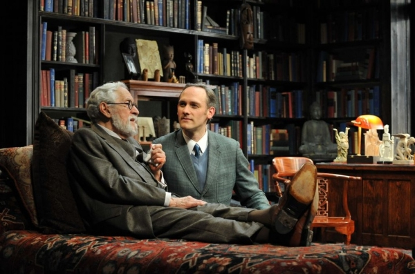 Photo Flash: Mike Nussbaum and Coburn Goss Star in FREUD'S LAST SESSION, Extended at Chicago's Mercury Theater