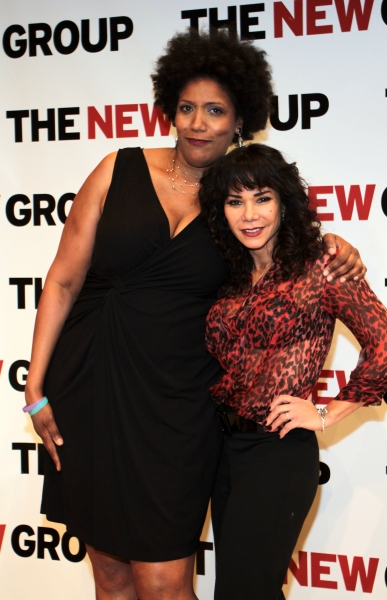 Nancy Giles, Daphne Rubin-Vega at Daphne Rubin-Vega, Rosie O'Donnell and More Lead the New Group's WOMEN BEHIND BARS Reading