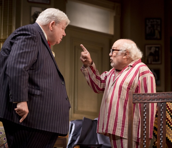 Photo Flash: First Look at Richard Griffiths and Danny DeVito in THE SUNSHINE BOYS at The Savoy