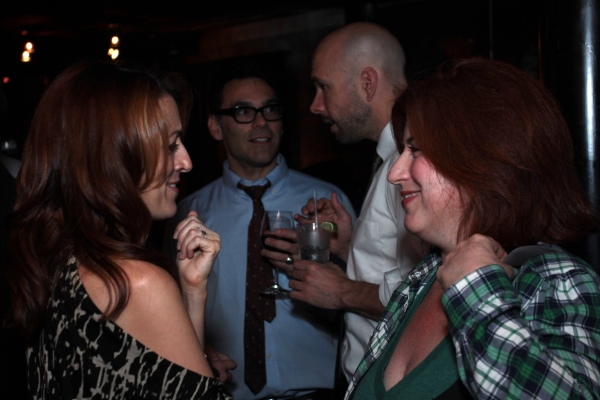 Kate Wetherhead, Anne L. Nathan at SUBMISSIONS ONLY's Season Two Wrap Party!
