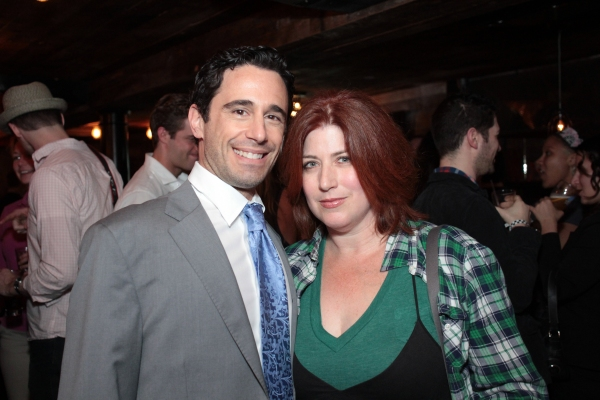 Christopher Gattelli, Anne L. Nathan at SUBMISSIONS ONLY's Season Two Wrap Party!