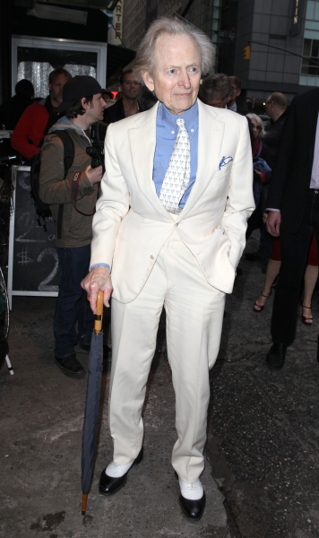 Tom Wolfe at Red Carpet Celebs at Opening Night of LONELY, I'M NOT