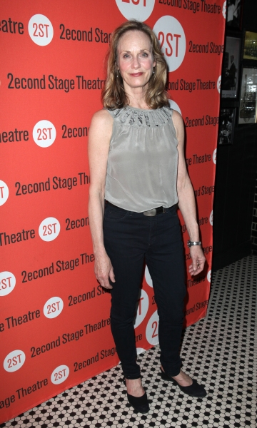 Lisa Emery at Opening Night of LONELY, I'M NOT Starring Topher Grace & Olivia Thirlby at Second Stage