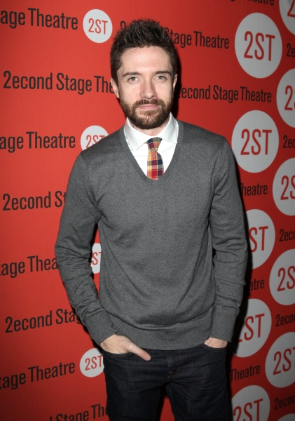Photo Coverage: Opening Night of LONELY, I'M NOT Starring Topher Grace & Olivia Thirlby at Second Stage