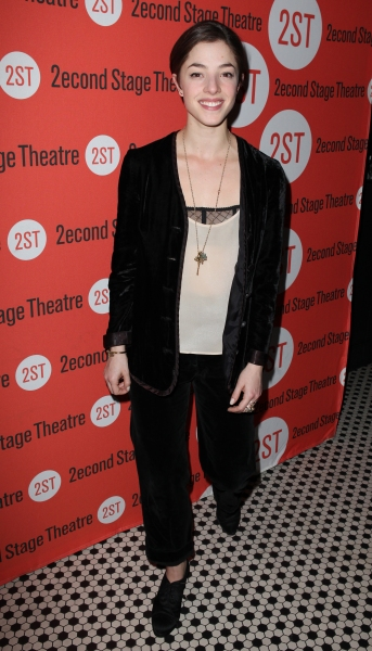 Olivia Thirlby  at Opening Night of LONELY, I'M NOT Starring Topher Grace & Olivia Thirlby at Second Stage