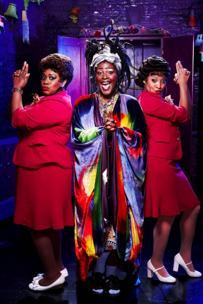 Lisa Davina Phillip, Sharon D. Clarke and Jenny Fitzpatrick