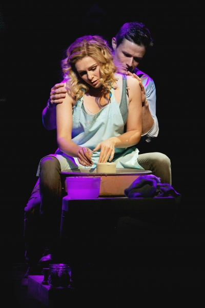 Siobhan Dillon and Mark Evans at New Shots - Siobhan Dillon, Sharon D. Clarke, et al. in West End's GHOST THE MUSICAL!